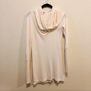 Splendid Cream Cowl Neck Sweater